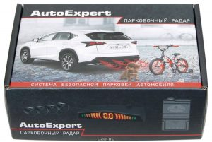AutoExpert PS-4Z, Silver парктроник
