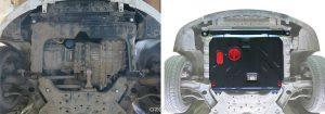 Защита картера и КПП Автоброня Hyundai Solaris 2011-2016/Kia Rio 2011-2016, сталь 2 мм